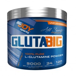 BIGJOY - Bigjoy Sports Glutabig 120 gr L-Glutamine Powder