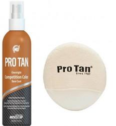 PROTAN - Protan Overnight Competition Color Base Coat Bronzlaştırıcı Vücut Boyası (Sprey)