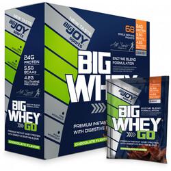 BIGJOY - Bigjoy Bigwheygo Protein Tozu 68 Servis Çikolata Aromalı