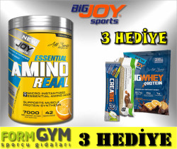 BIGJOY - Bigjoy Sports Amino Reaal Portakal 420 gr Esansiyel Aminoasit
