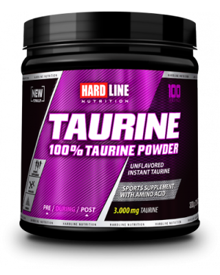 Hardline Taurine Powder 300 gr Toz