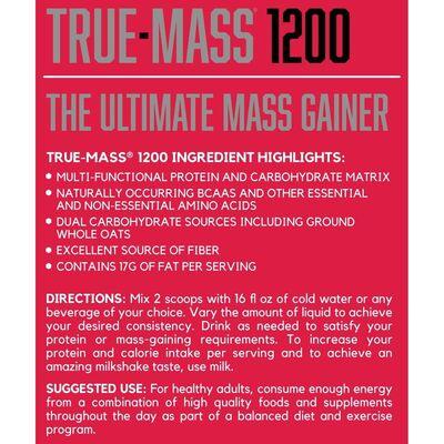 BSN TRUE MASS 1200 4800 GR