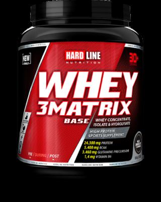 Hardline WHEY 3Matrix 908 gr Protein Base Çikolata