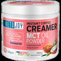 BIGJOY - Ketojoy MCT Oil Powder 126g Instant Coffee Creamer