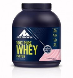 MULTIPOWER - Multipower %100 Whey Protein Tozu 2000 gr Çilek