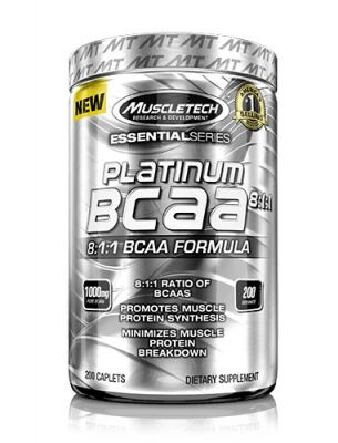 Muscletech Essential Series Platinum BCAA 8:1:1 - 200 Tablet