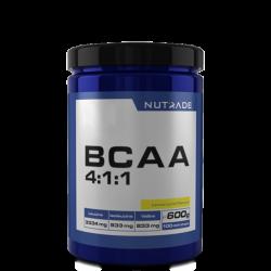 NUTRADE - Nutrade BCAA 4-1-1 600 gr 100 Servis Limon + 2 HEDİYE