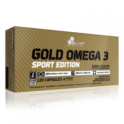 OLIMP - Olimp Gold Omega 3 Sport Edition 120 Kapsül 1000 mg
