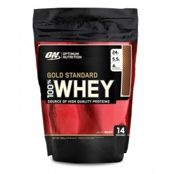 OPTIMUM - Optimum ON Gold Standard Whey Protein 450 gr Çikolata