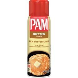 PAM - Pam Butter Flavor Spray Oil 141 gr Sprey Yapışmaz Yağ