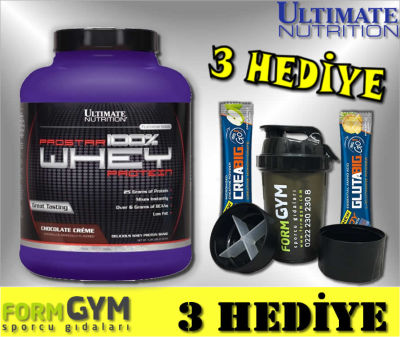 Ultimate Nutrition Prostar Whey Protein 2390 gr Çikolata